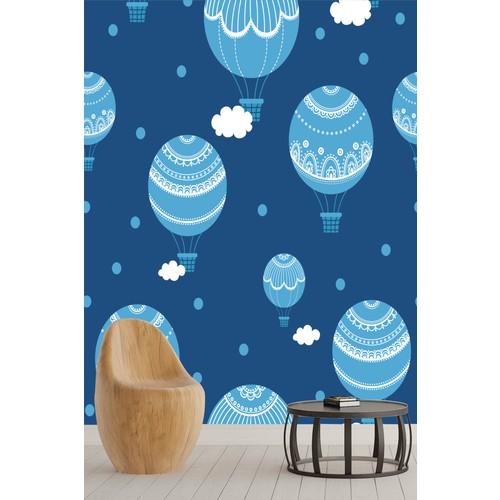 Pidekorasyon Çocuk Odası Balon Duvar Kağıdı - 6001