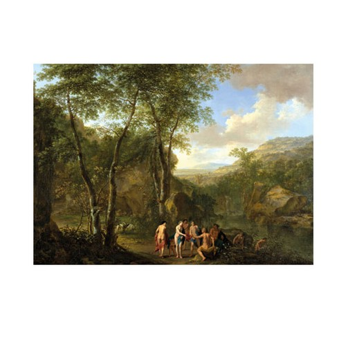 ARTİKEL Jan Both - A Landscape With the Judgement of Paris 50x70 cm KS-1301