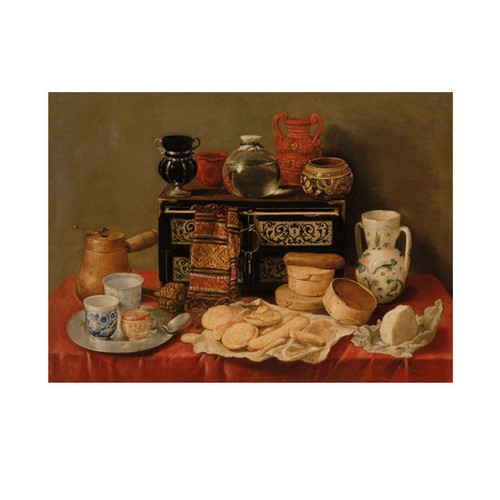 ARTİKEL Antonio de Pereda - Still Life with an Ebony Chest 50x70 cm KS-1258