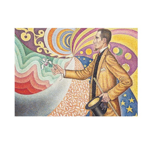ARTİKEL Paul Signac - Against the Enamel of a Background Rhythmic with Beats and Angle 50x70 cm KS-1237