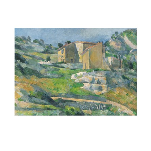 ARTİKEL Houses in Provence 50x70 cm KS-1173