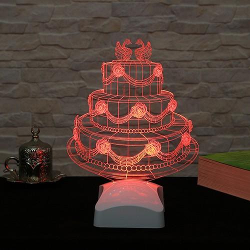 Dekorjinal 3 Boyutlu Pasta Lamba V23D100