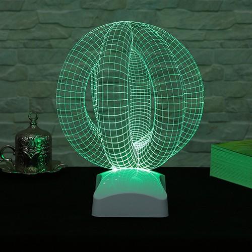 Dekorjinal 3 Boyutlu Geometrik Lamba V23D001