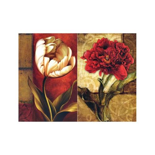 ARTİKEL Lush Life 2 Parça Kanvas Tablo 80x100 cm KS-537