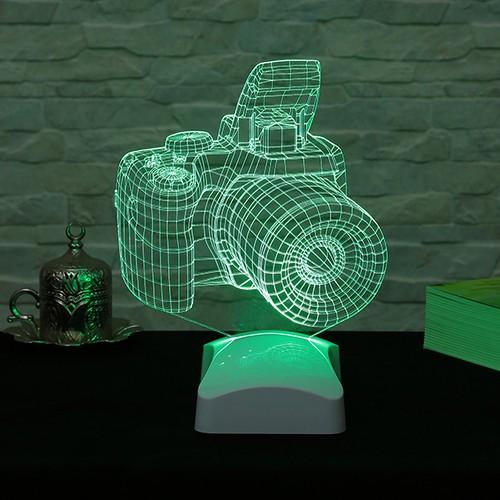 Dekorjinal 3 Boyutlu Fotograf Makinası Lamba V23D165