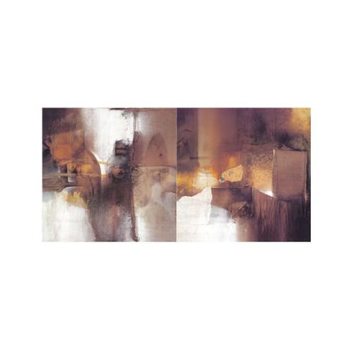 ARTİKEL Uncertainty 2 Parça Kanvas Tablo 80x40 cm KS-369