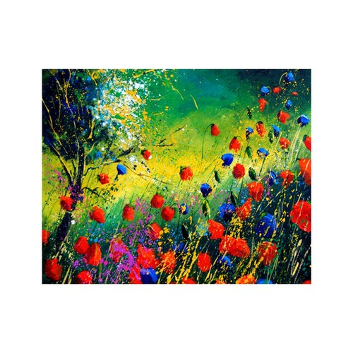 ARTİKEL Wet Flowers 2 Parça Kanvas Tablo 80x100 cm KS-326