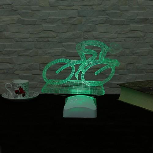 Dekorjinal 3 Boyutlu Bisikletçi Lamba V23D080