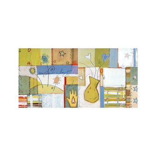 ARTİKEL Different Shapes 2 Parça Kanvas Tablo 80x40 cm KS-806