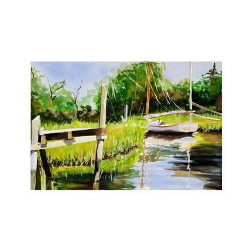 ARTİKEL Watercolor Painting 2 Parça Kanvas Tablo 60x40 cm KS-946