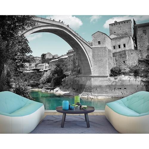 Artmodel Bosna Mostar Köprüsü Poster Duvar Kağıdı PD-33