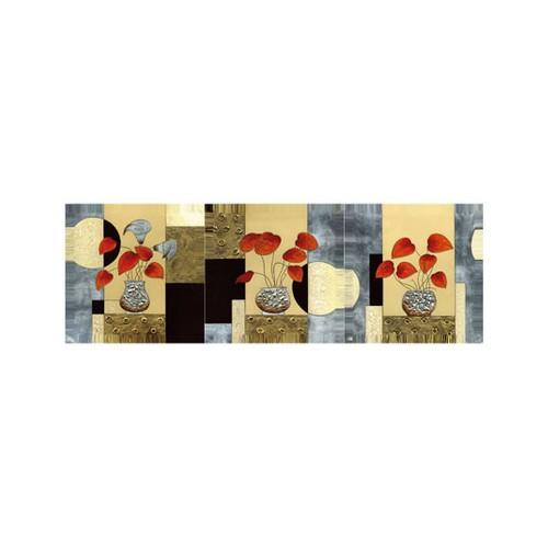 ARTİKEL Riptide 3 Parça Kanvas Tablo 40X120 Cm KS-659