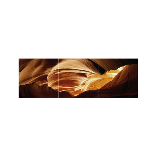 ARTİKEL Wise Up 3 Parça Kanvas Tablo 40X120 Cm KS-678
