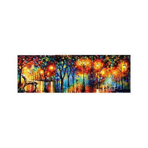 ARTİKEL Romantic Nights 3 Parça Kanvas Tablo 40X120 Cm KS-766