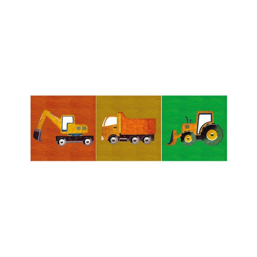 ARTİKEL Toys 3 Parça Kanvas Tablo 40X120 Cm KS-560