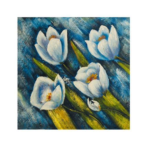 ARTİKEL Positive Thinking 4 Parça Kanvas Tablo 70x70 cm KS-123