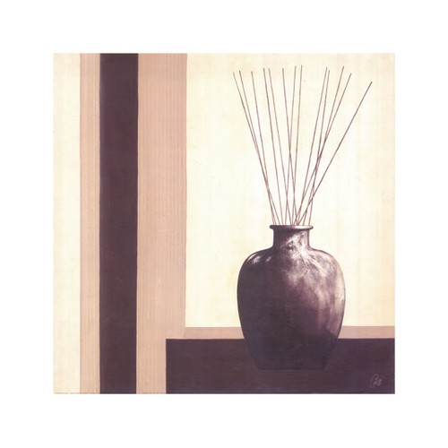 ARTİKEL Simple Vase 4 Parça Kanvas Tablo 70x70 cm KS-470