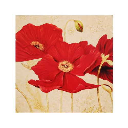 ARTİKEL Famous Red 4 Parça Kanvas Tablo 70x70 cm KS-165