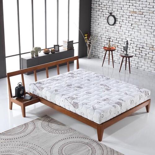 Bera Yatak Visco Bamboo - Beyaz - 90x190x20 + Alez