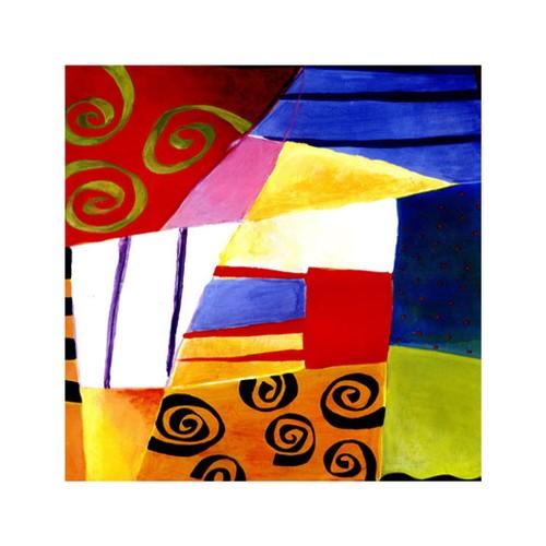 ARTİKEL Famous Lines 4 Parça Kanvas Tablo 70x70 cm KS-214
