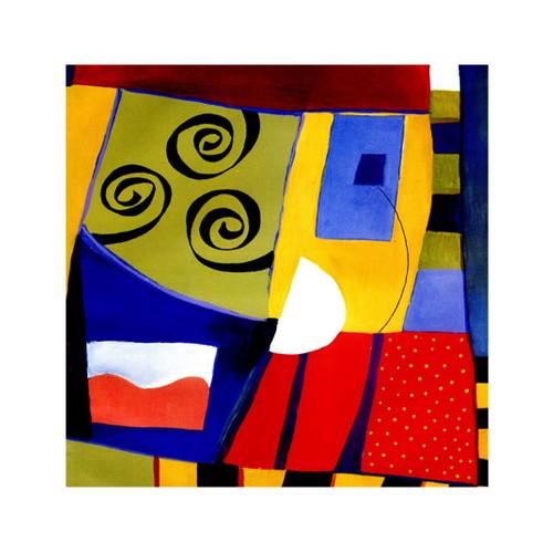 ARTİKEL Katy Song 4 Parça Kanvas Tablo 70x70 cm KS-198
