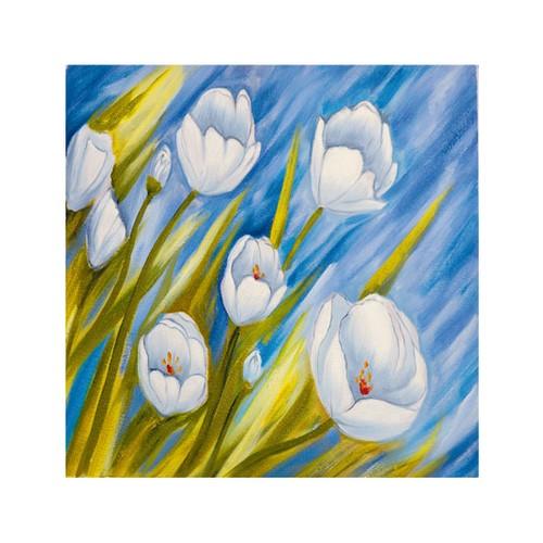 ARTİKEL Early Spring 4 Parça Kanvas Tablo 70x70 cm KS-100
