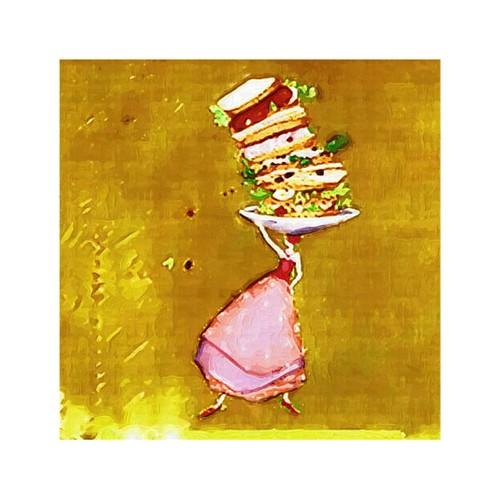 ARTİKEL Flavor 4 Parça Kanvas Tablo 70x70 cm KS-126