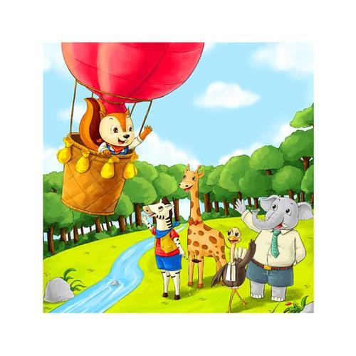 ARTİKEL Cartoon 4 Parça Kanvas Tablo 70x70 cm KS-547