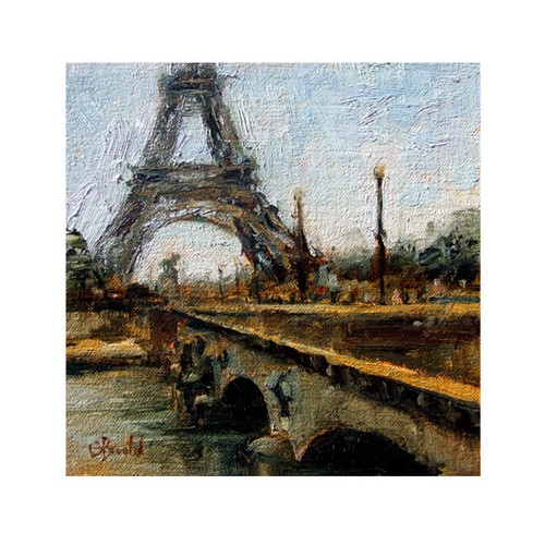 ARTİKEL Romance in Paris 4 Parça Kanvas Tablo 70x70 cm KS-948