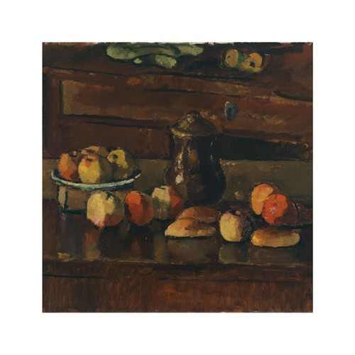 ARTİKEL Fruits Time 4 Parça Kanvas Tablo 70x70 cm KS-447