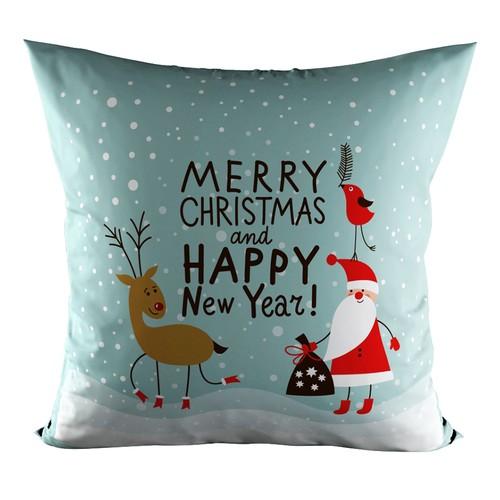 Serbelle Dekoratif Yeni Yıl Yastık - Y43