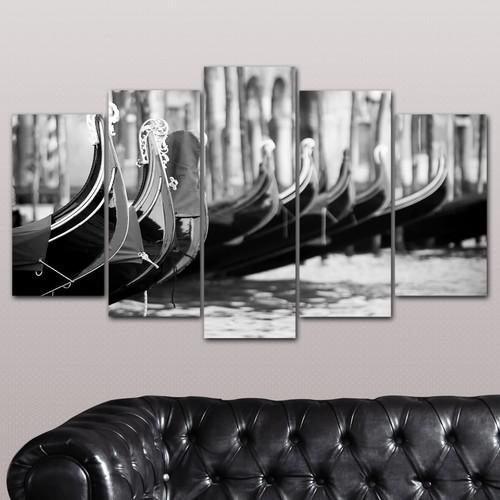 K Dekorasyon Gondol 5 Parçalı Mdf Tablo KM-5P 2448