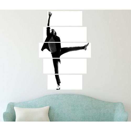 K Dekorasyon Dansçı 5 Parçalı Mdf Tablo KM5P1868