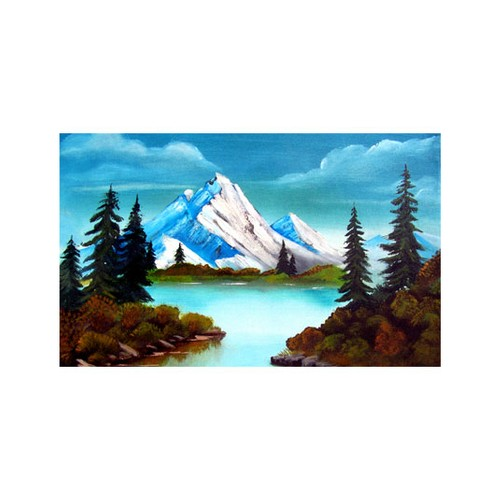 ARTİKEL Romantic Snow 5 Parça Kanvas Tablo 135x85 cm KS-329
