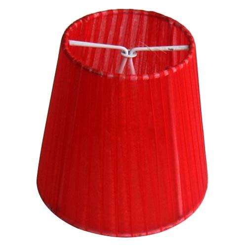 Tek-İş Abajur Şapkası Organze Kırmızı