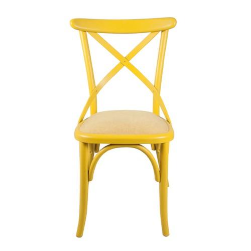 Dekoroda Sthol Tonet Sandalye - Sarı