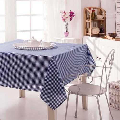 Eponj Home Masa Örtüsü Piti Mavi