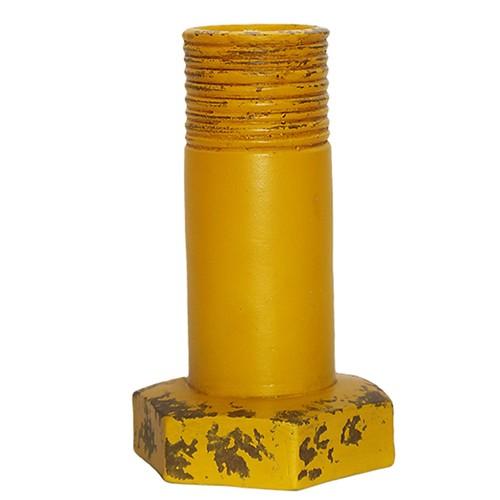 Kuk Home Civata Vazo Sarı