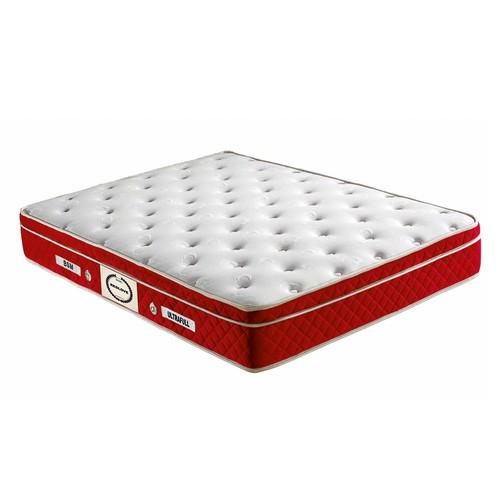 Mopa Teks Red Love Ultra Ortopedik Kalın Pedli Yatak - 140 x 200 - Kırmızı - Beyaz
