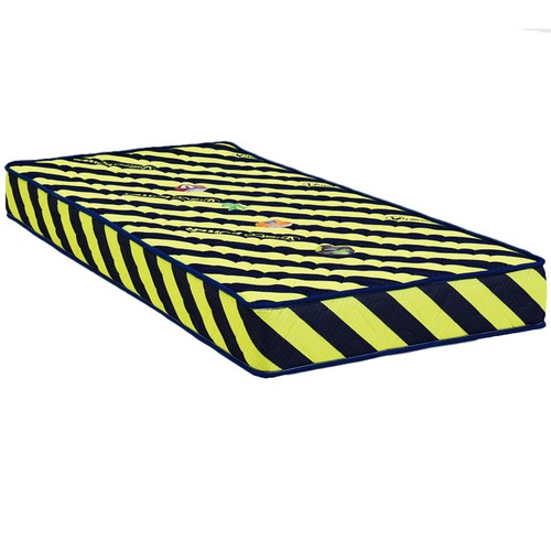 Mopa Teks Taraftar Ultra Full Ortopedik Visco Yatak - 140 x 200 - Sarı - Lacivert