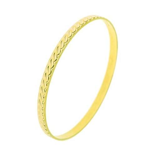 Bilezikhane Hediyelik Bilezik 3,00 Gram Lale Model 14 Ayar Altın