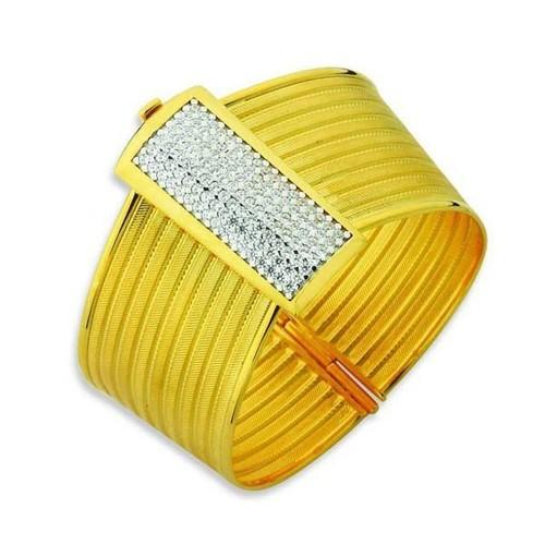 Bilezikhane Rize Hasır Kelepçe 9 Sıra 34,30 Gram 14 Ayar Altın
