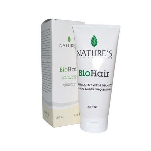 Nature's BioHair Aha Frequent Wash Shampoo 200ml - Hassas Ve İnce Telli Saçlar İçin