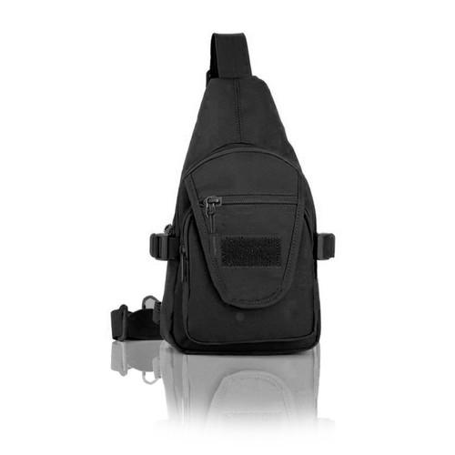 Protector Plus Üçgen Tek Omuz Çantası (Siyah)