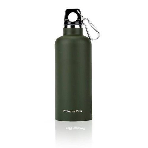 Protector Plus 500ml Çelik Su Şişesi Koyu Yeşil