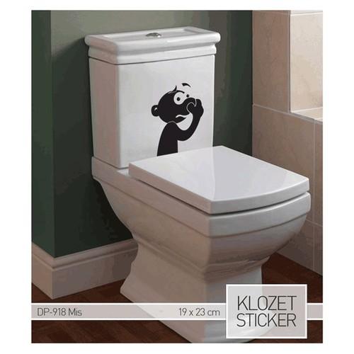 Artikel Mis Klozet Sticker 19 x 23 cm Dp-918