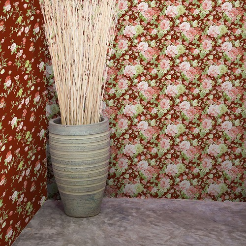 Mot Çiçekli Duvar Kağıdı 10-004101