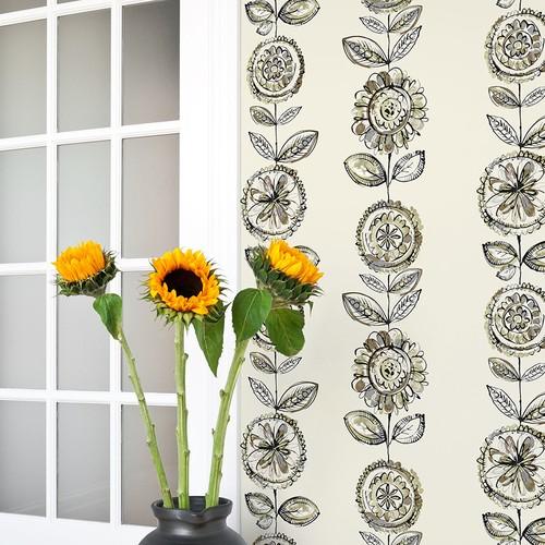 Mot Çiçekli Duvar Kağıdı 10-008103