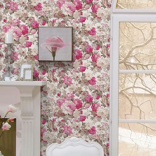 Mot Çiçekli Duvar Kağıdı 10-003401