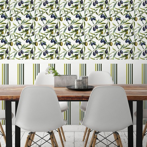 Mot Mutfak Duvar Kağıdı 10-015901